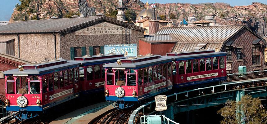 image of DisneySea Electric Railway1
