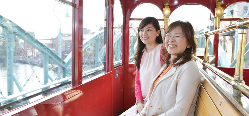 gambar DisneySea Electric Railway2