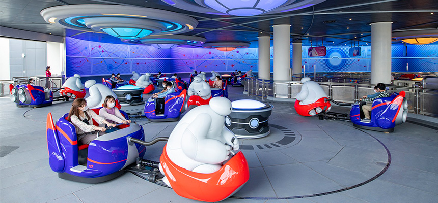 image of The Happy Ride with Baymax1
