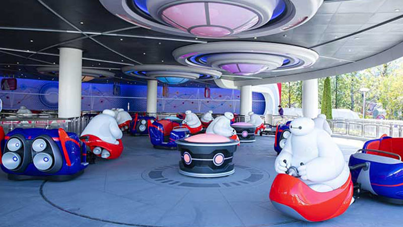 image of The Happy Ride with Baymax