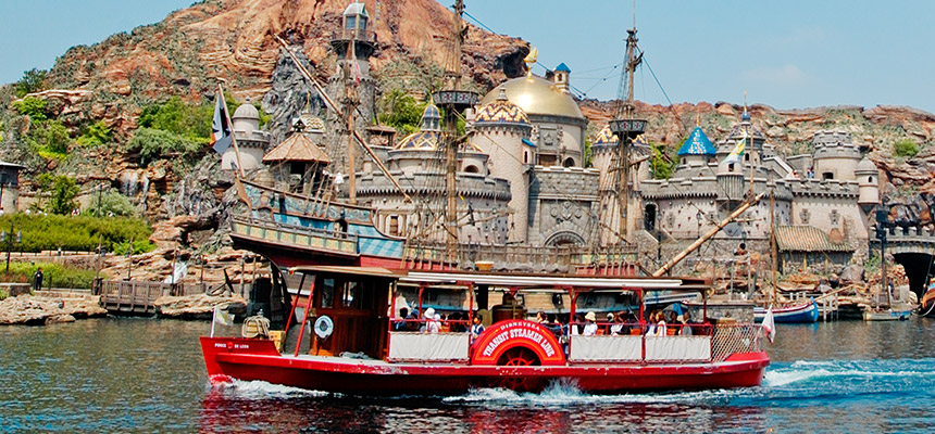 迪士尼海洋渡輪航線的圖像1