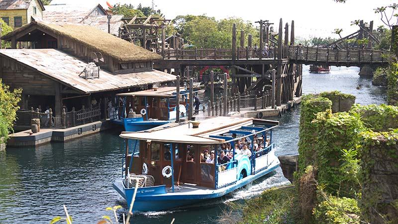 image of DisneySea Transit Steamer Line