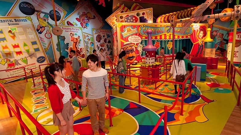 gambar Toy Story Mania!