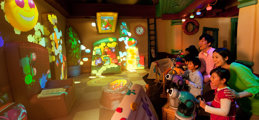image of Goofy's Paint 'n' Play House1