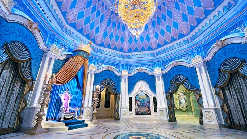 仙履奇緣童話大廳的圖像