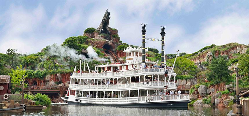 蒸気船マークトウェイン号のイメージ1