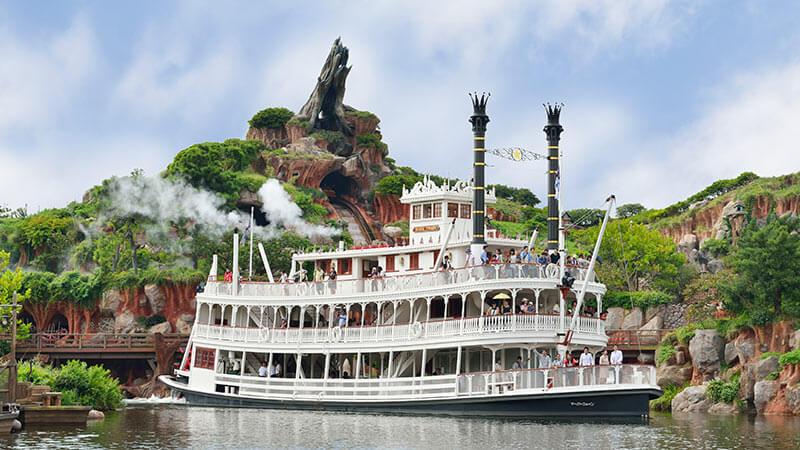 蒸気船マークトウェイン号のイメージ