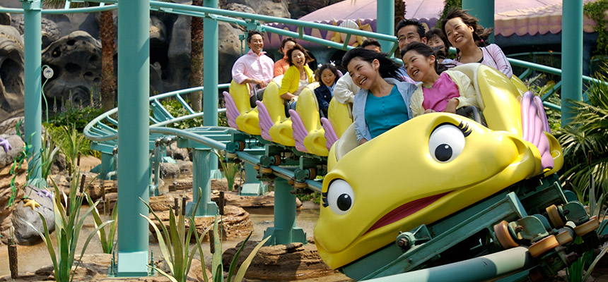 image of Flounder's Flying Fish Coaster1