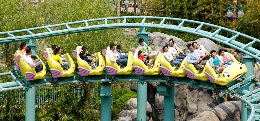 image of Flounder's Flying Fish Coaster2
