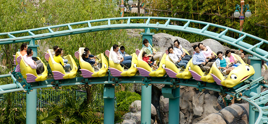 image of Flounder's Flying Fish Coaster2