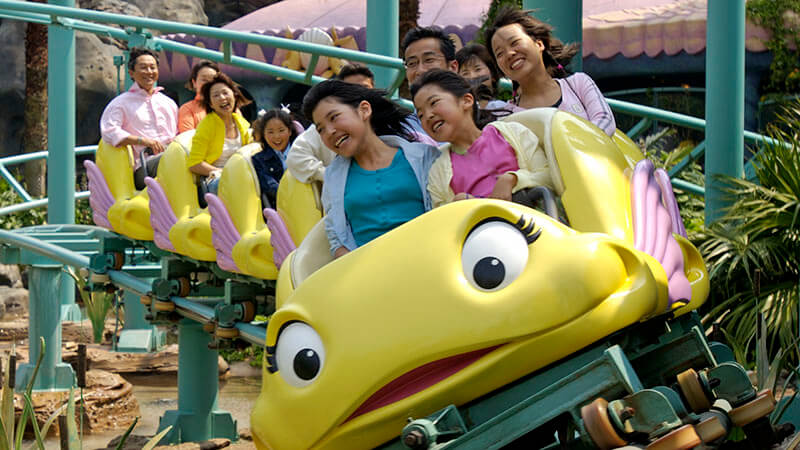 gambar Flounder's Flying Fish Coaster