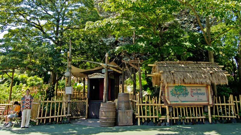 image of Swiss Family Treehouse