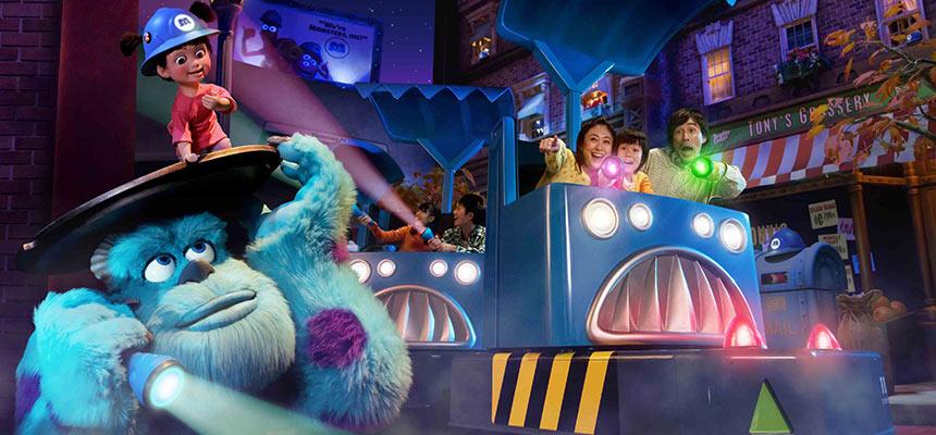 怪獸電力公司「迷藏巡遊車」的圖像1