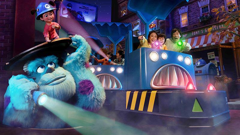gambar Monsters, Inc. Ride & Go Seek!