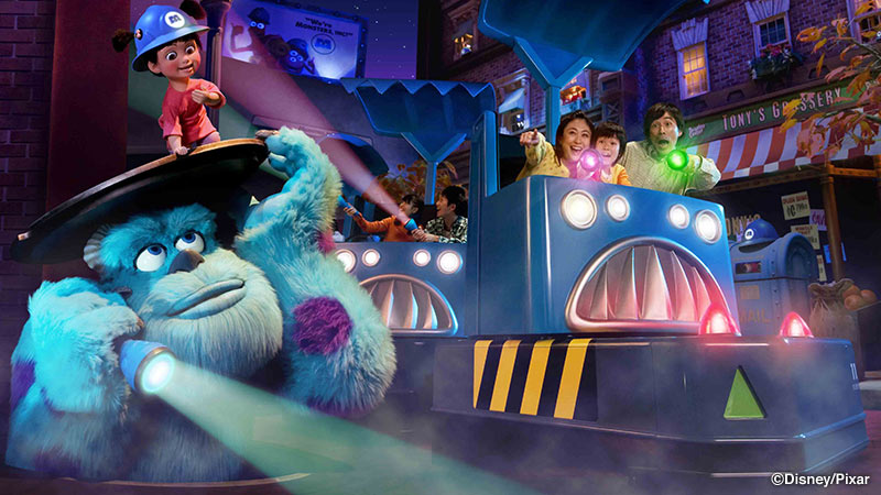 gambar Monsters, Inc. Ride & Go Seek!