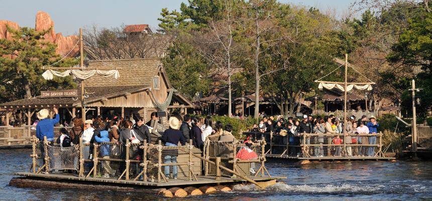 トムソーヤ島いかだのイメージ1