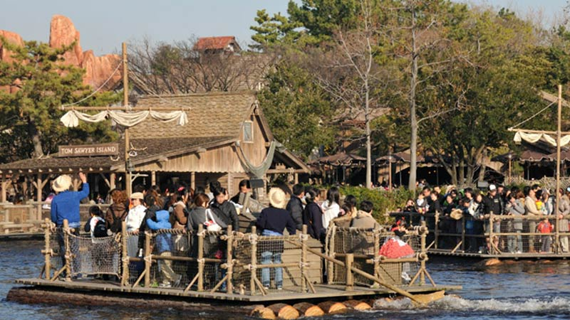 image of Tom Sawyer Island Rafts