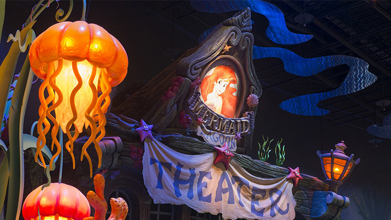 image of Mermaid Lagoon Theater (King Triton's Concert)