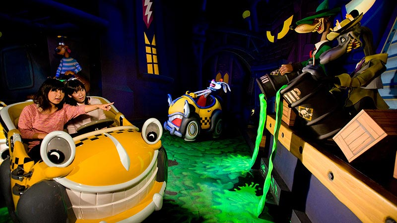 gambar Roger Rabbit's Car Toon Spin