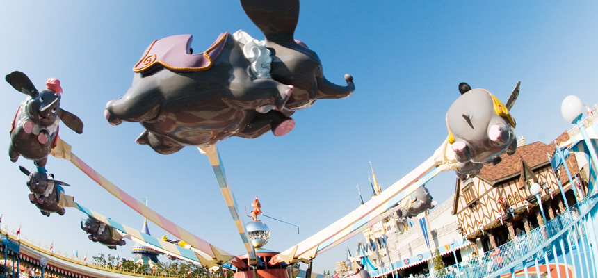 image of Dumbo The Flying Elephant1