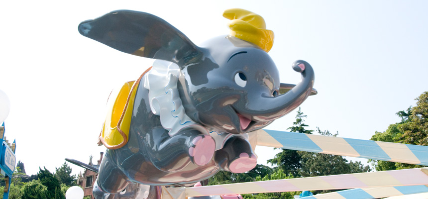 image of Dumbo The Flying Elephant2