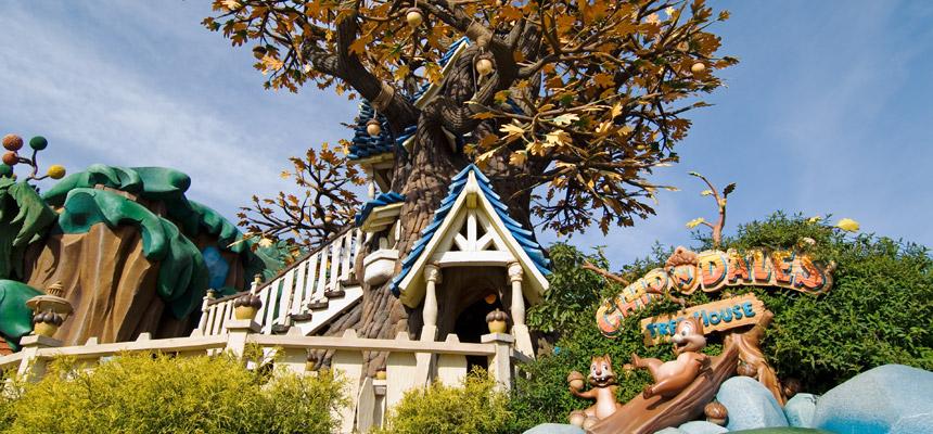 チップとデールのツリーハウスのイメージ1