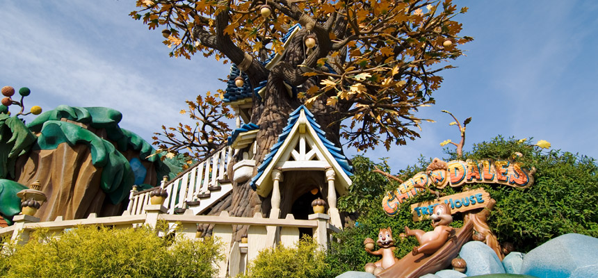 gambar Chip 'n Dale's Treehouse1