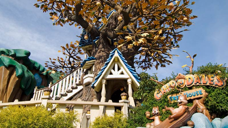 image of Chip 'n Dale's Treehouse