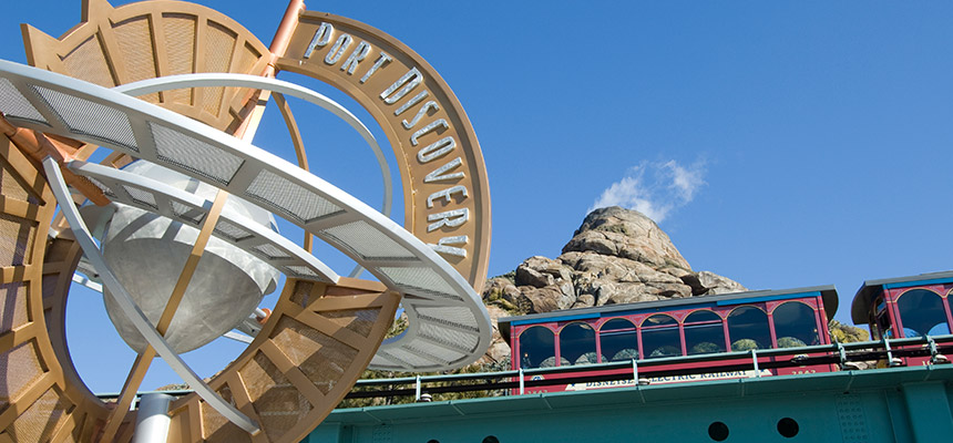image of DisneySea Electric Railway1