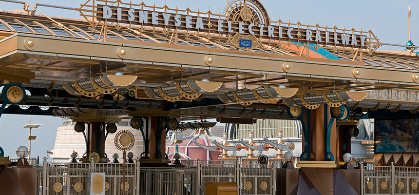 image of DisneySea Electric Railway3
