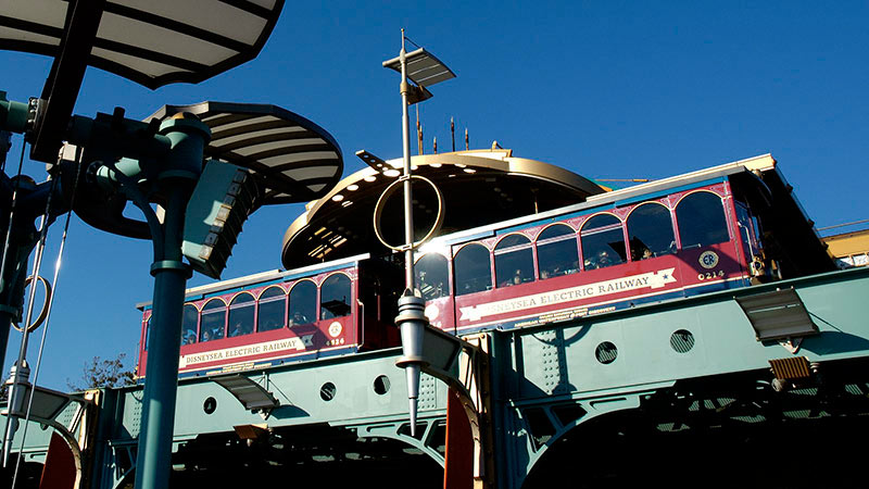 gambar DisneySea Electric Railway