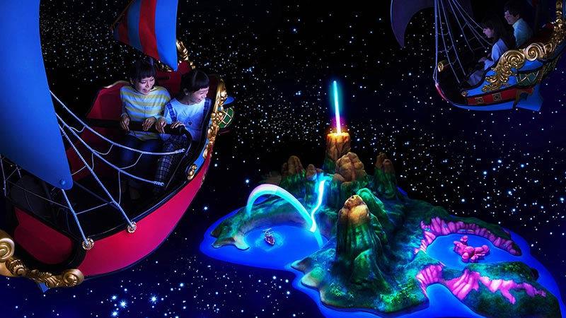 小飛俠天空之旅的圖像