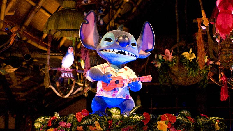 "image of The Enchanted Tiki Room: Stitch Presents ""Aloha E Komo Mai!"""