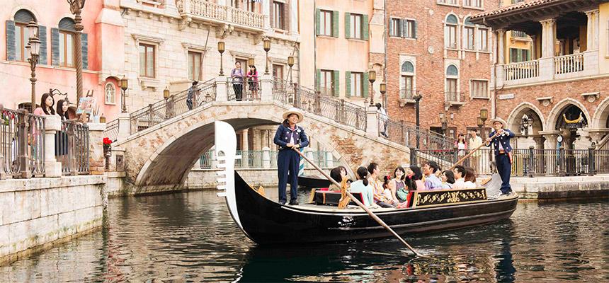 gambar Venetian Gondolas2
