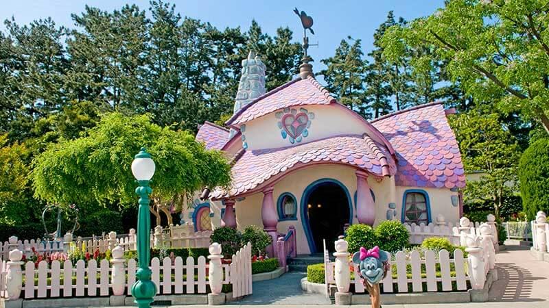 ミニーの家のイメージ