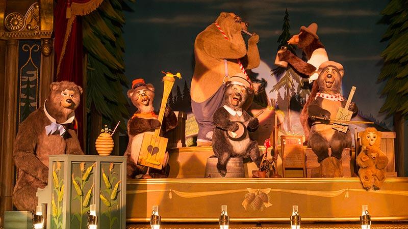 gambar Country Bear Theater