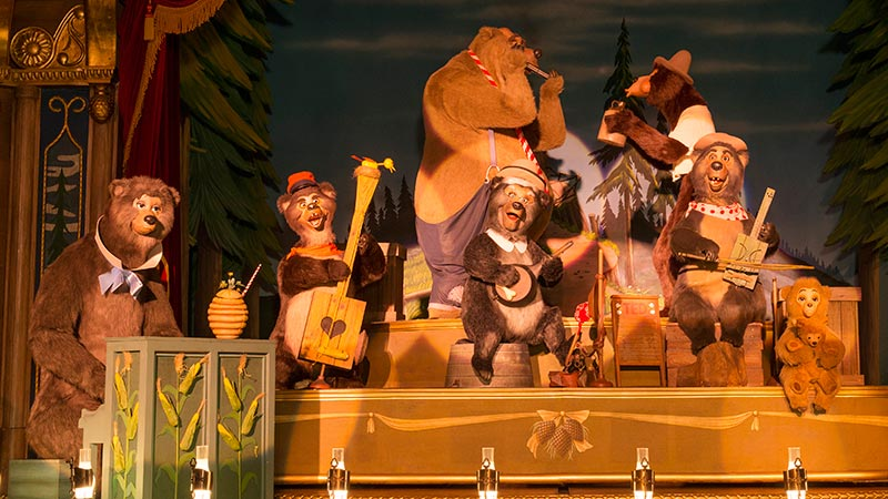 image of Country Bear Theater