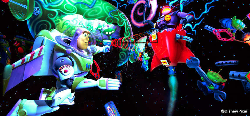 image of Buzz Lightyear's Astro Blasters1