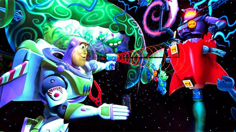 gambar Buzz Lightyear's Astro Blasters