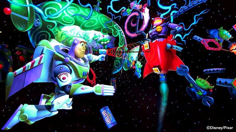 image of Buzz Lightyear's Astro Blasters