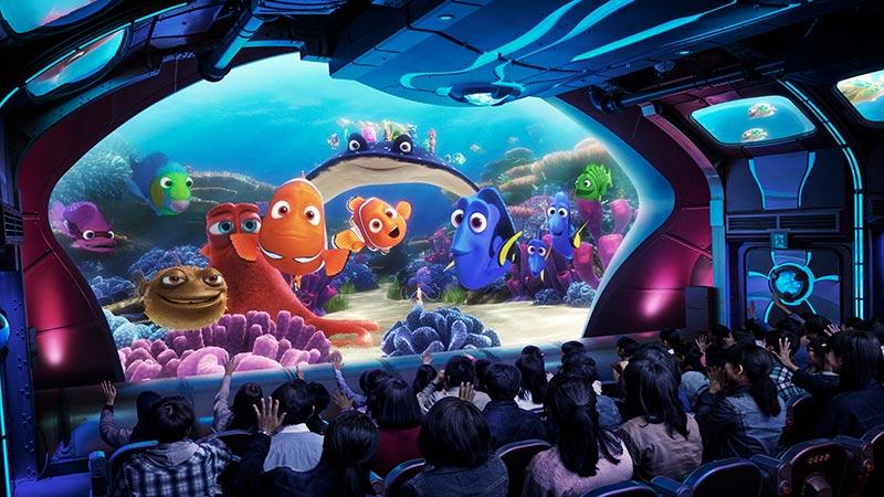 海底巡遊艇:尼莫&好友的海洋世界的圖像