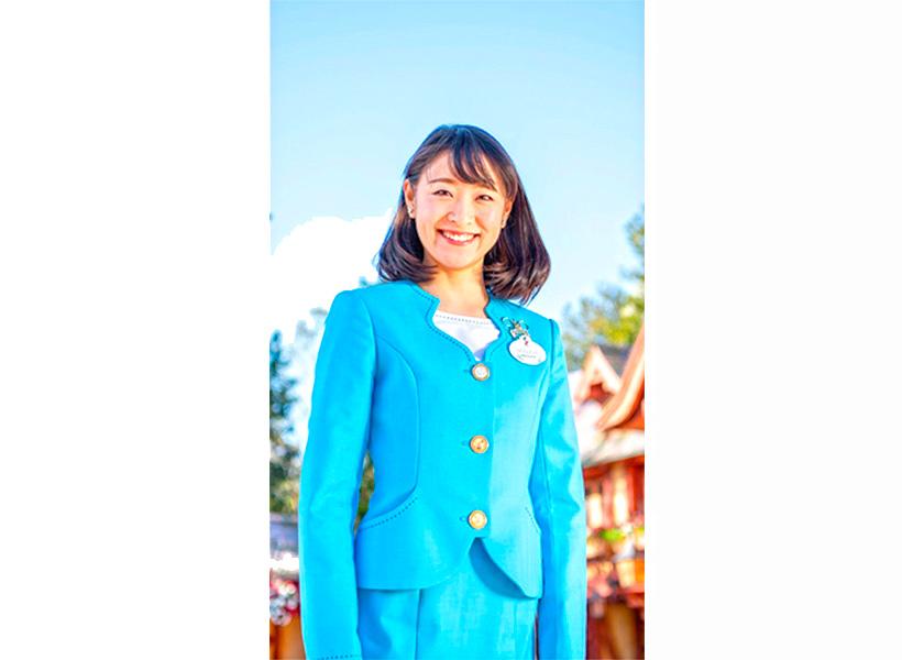 青いジャケットのコスチューム
