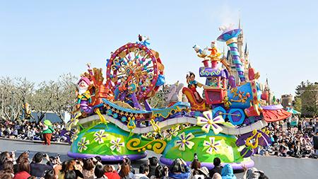 東京ディズニーランドの新しいデイパレード「ハピネス・イズ・ヒア」をもっと楽しもう!のイメージ