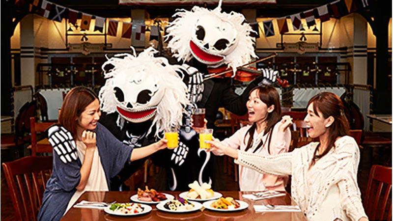"""""""コワ楽しい""""スケルトンが盛り上げる東京ディズニーシーの「ディズニー・ハロウィーン」 Vol.1のイメージ"""