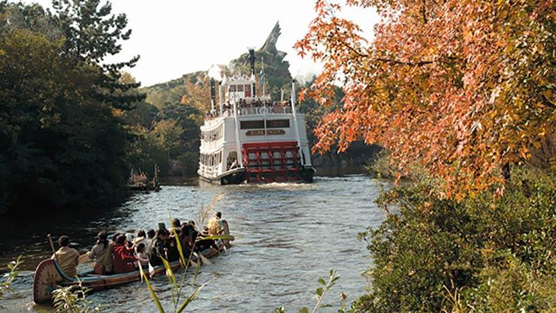 秋の広大なアメリカ河は、楽しみ方がいっぱい♪のイメージ