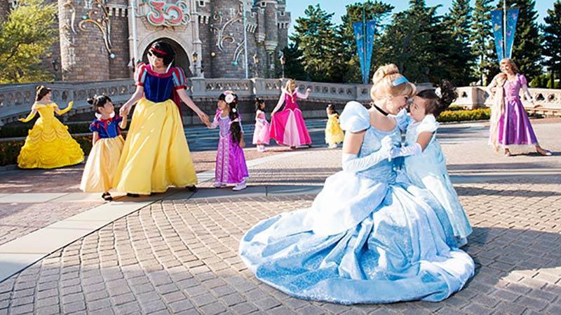 【広報リリース】東京ディズニーランド新プログラム「ディズニー・プリンセス ~ようこそ、リトルプリンセス~」 のイメージ