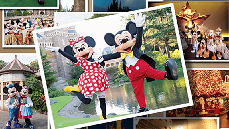 東京ディズニーリゾート30周年記念写真展「夢とハピネスの東京ディズニーリゾート」♪スペシャルグッズも発売中!のイメージ