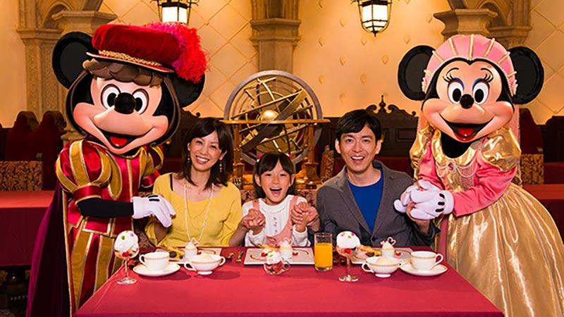 東京ディズニーシーのレストラン「マゼランズ」の部屋を貸し切って、ディズニーキャラクターたちと素敵なひとときを♪のイメージ
