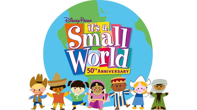 「イッツ・ア・スモールワールド」50周年おめでとう!のイメージ