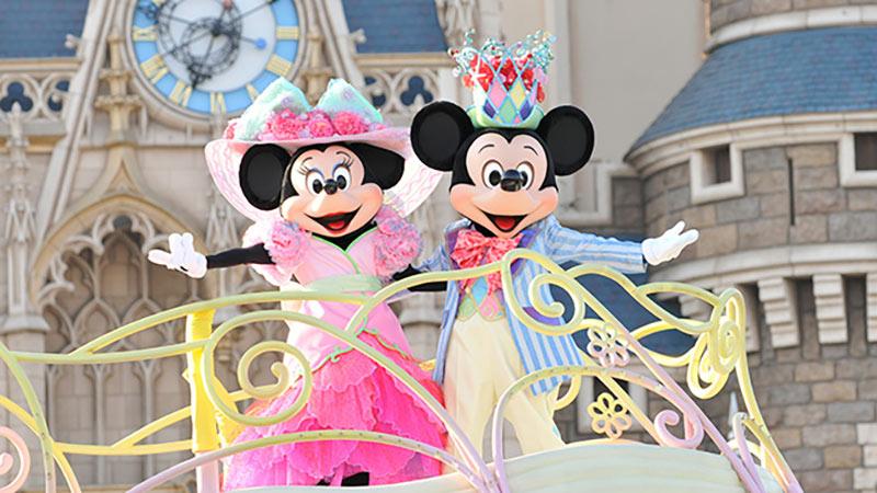 東京ディズニーリゾートで、春の到来を盛大にお祝いするスペシャルイベントがスタート♪のイメージ